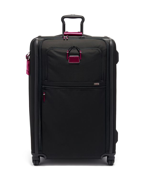 Medium Trip Expandable 4 Wheeled Packing Case in Metallic Pink