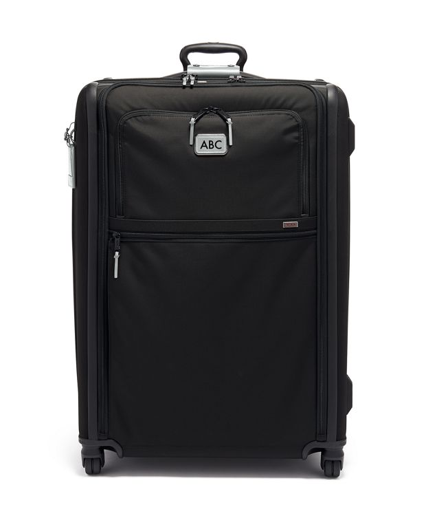 Extended Trip Expandable 4 Wheeled Packing Case in Metallic Silver