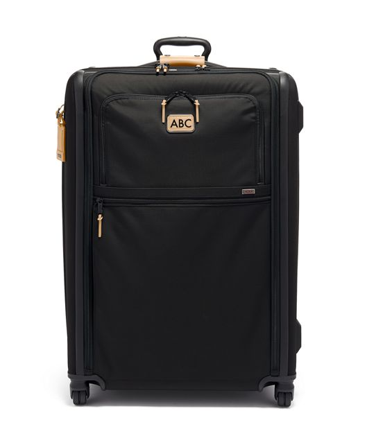 Extended Trip Expandable 4 Wheeled Packing Case in Grey Highlands Print