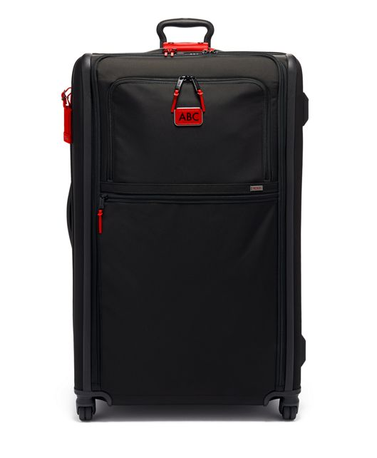 Worldwide Trip Expandable 4 Wheeled Packing Case in Cherry