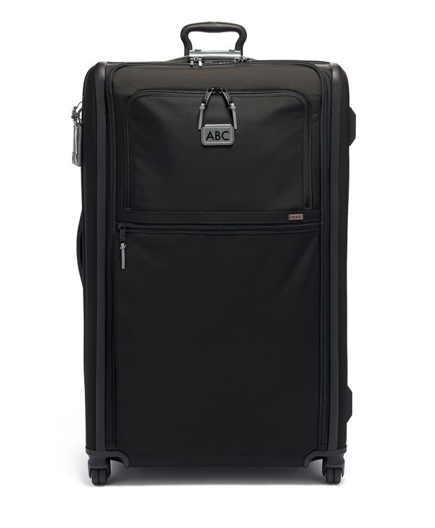 Worldwide Trip Expandable 4 Wheeled Packing Case in Metallic Silver