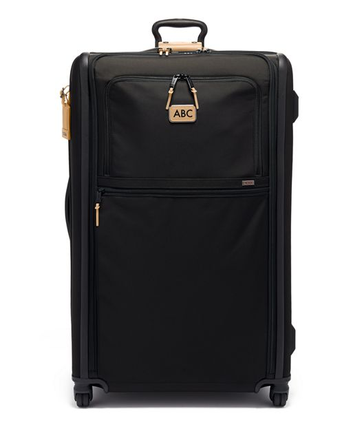 Worldwide Trip Expandable 4 Wheeled Packing Case in Grey Highlands Print