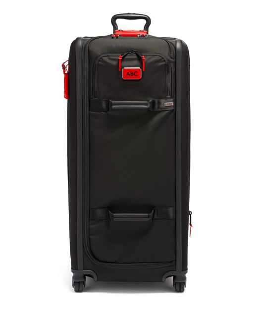 Tall 4 Wheeled Duffel Packing Case in Cherry