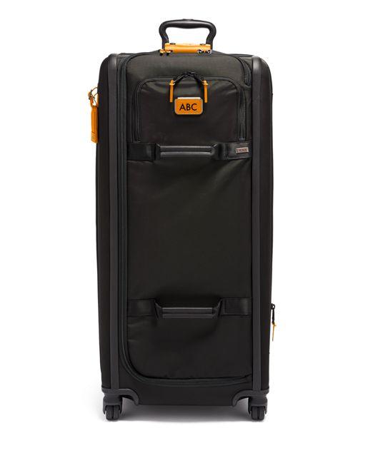 Tall 4 Wheeled Duffel Packing Case in Tan