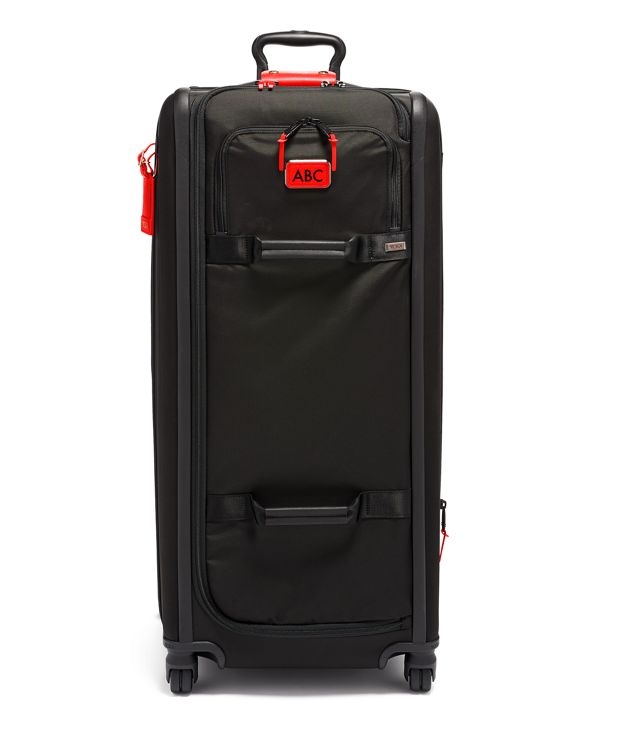 Tall 4 Wheeled Duffel Packing Case in Congo Bright Print