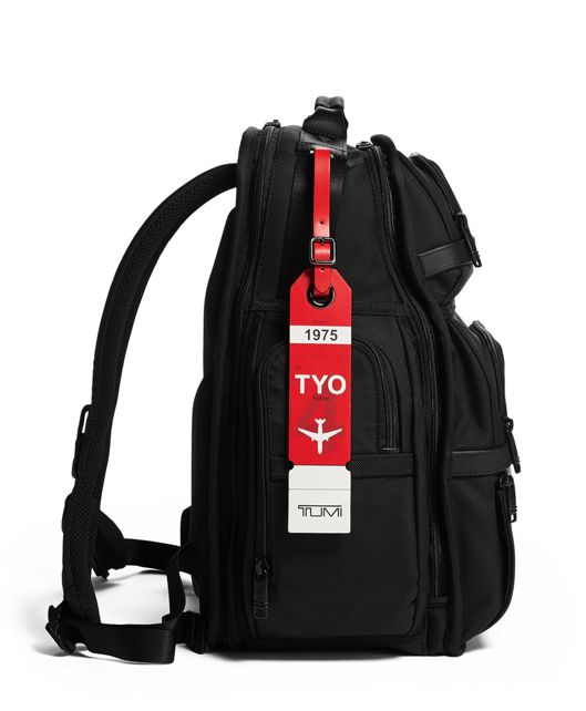 TOKYO LUGGAGE TAG Red - large | Tumi Thailand