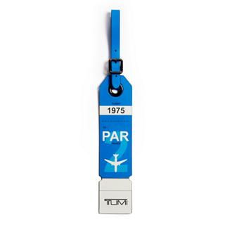 PARIS LUGGAGE TAG Blue - medium | Tumi Thailand