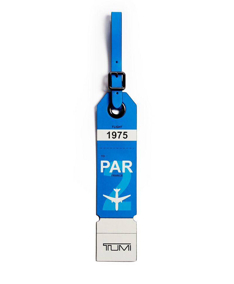 藍Paris行李牌