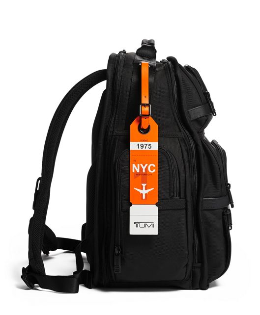 NEW YORK LUGGAGE TAG Orange - large | Tumi Thailand