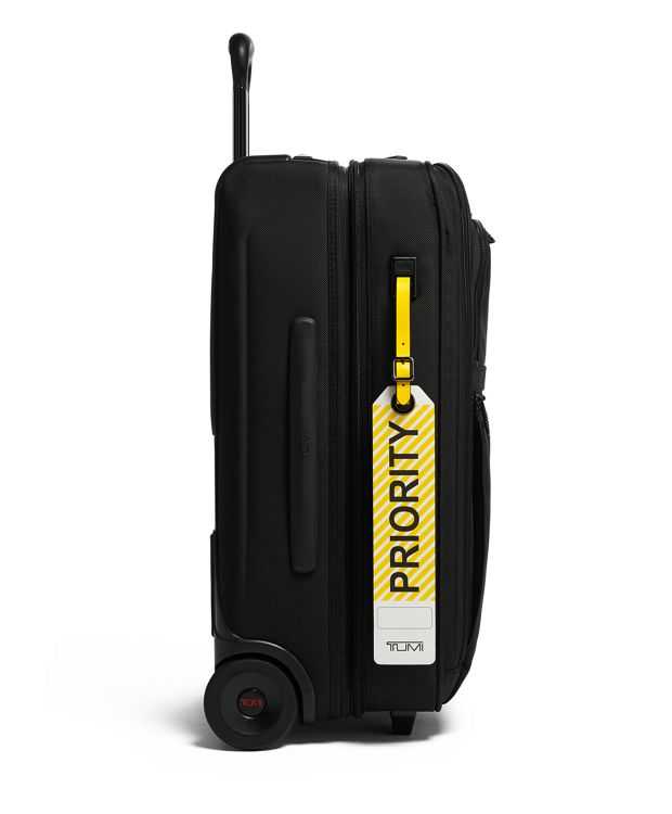 Yellow Priority Luggage Tag