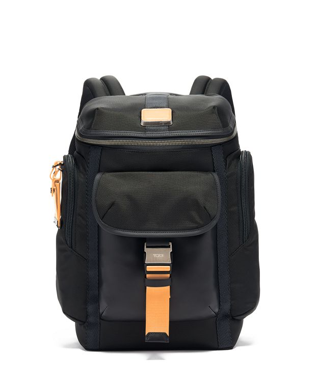 Wright Top Lid Backpack in Tan