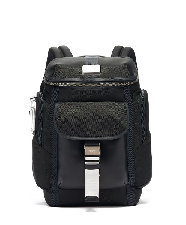 Wright Top Lid Backpack in White