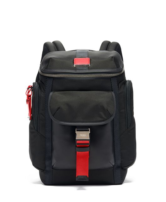 Wright Top Lid Backpack in Ember