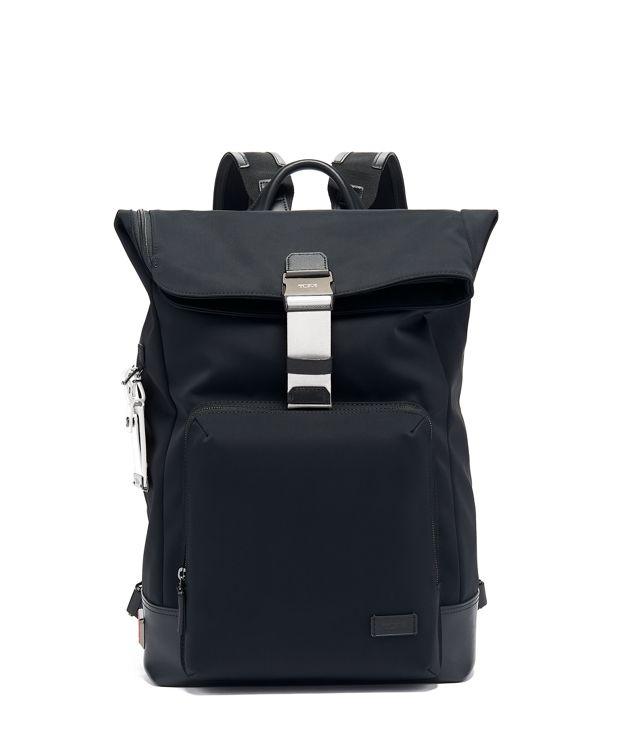 Oak Roll Top Backpack in White
