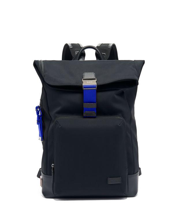 Oak Roll Top Backpack in Atlantic