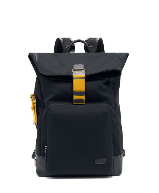 Oak Roll Top Backpack in Marigold