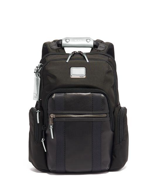 Nellis Backpack in Metallic Silver