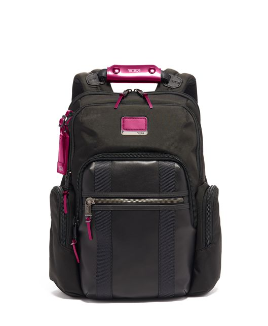 Nellis Backpack in Metallic Pink