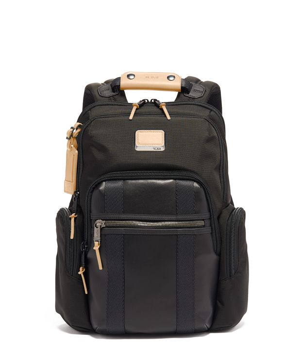 Nellis Backpack in Grey Highlands Print