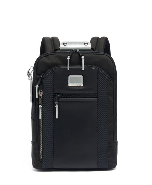 Davis Backpack in Metallic Silver