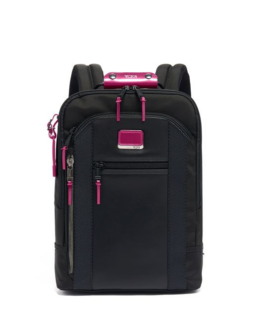 Davis Backpack in Metallic Pink