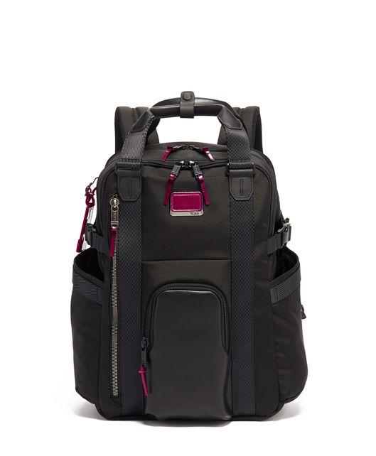 Kings Backpack Tote in Metallic Pink