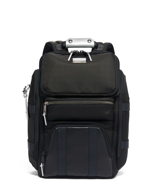 Tyndall Utility Backpack in Metallic Silver