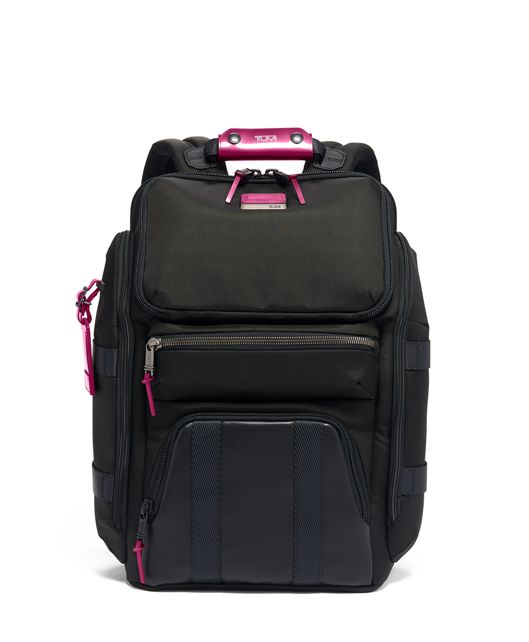Tyndall Utility Backpack in Metallic Pink