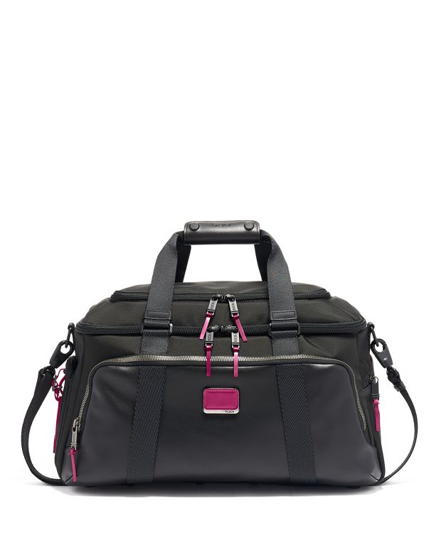 McCoy Gym Bag in Metallic Pink