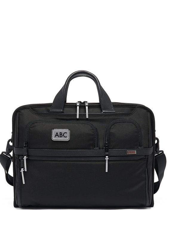 Compact Large Screen Laptop Brief in Metallic Silver