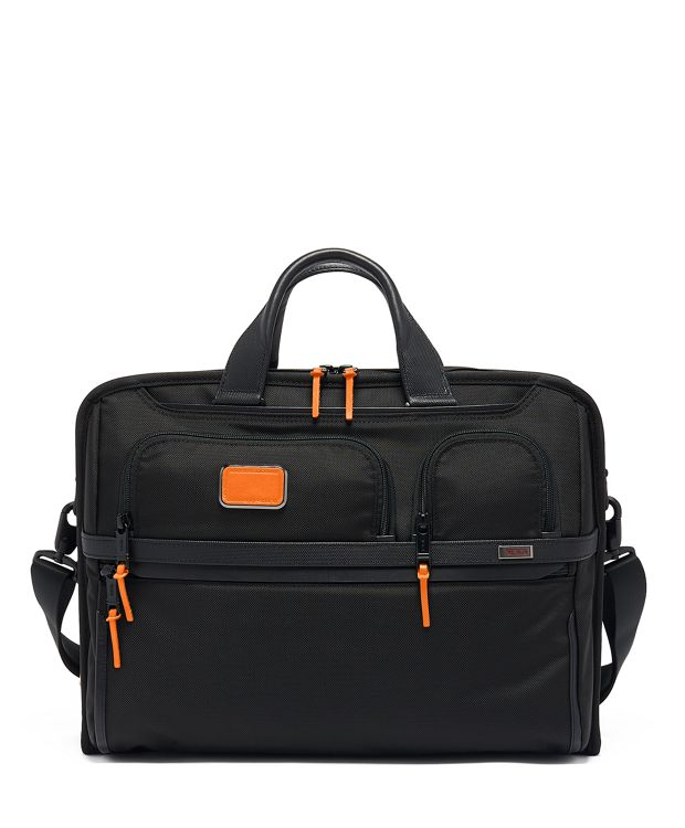 Compact Large Screen Laptop Brief in Sunrise