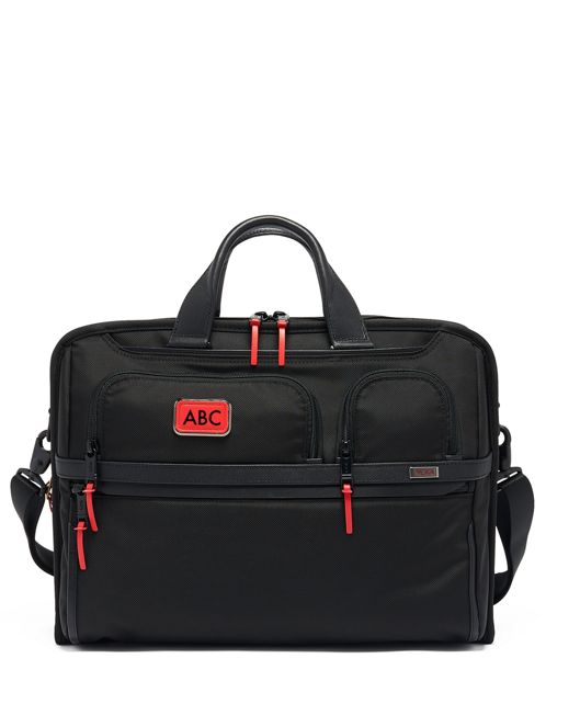 Compact Large Screen Laptop Brief in Congo Bright Print
