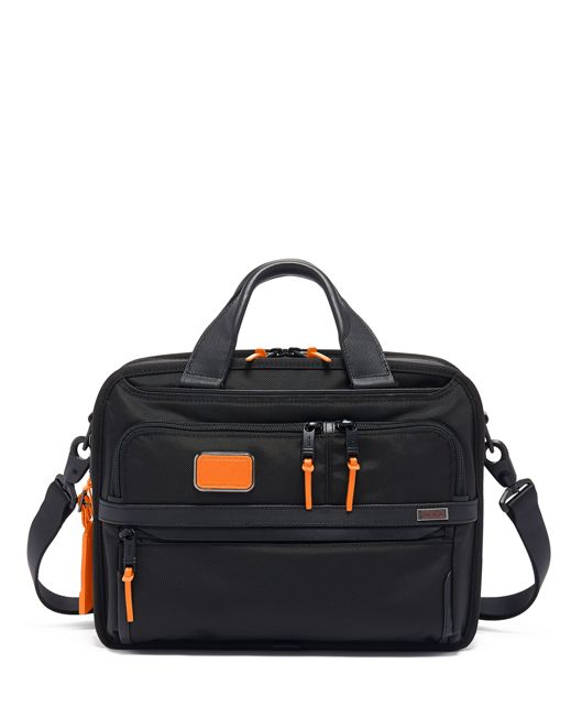 Small Screen Expandable Laptop Brief in Sunrise