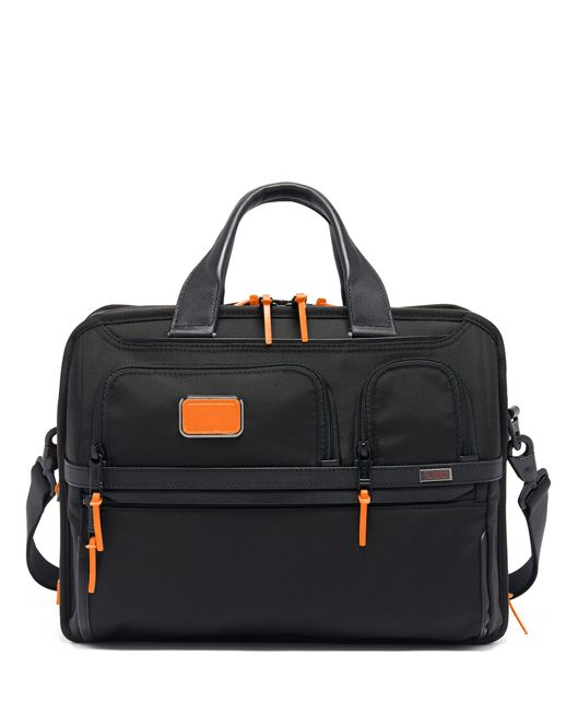 Expandable Organizer Laptop Brief in Sunrise