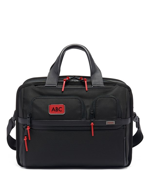 TUMI T-Pass® Expandable Laptop Brief in Cherry