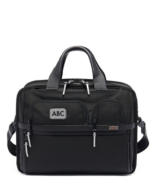TUMI T-Pass® Expandable Laptop Brief in Metallic Silver