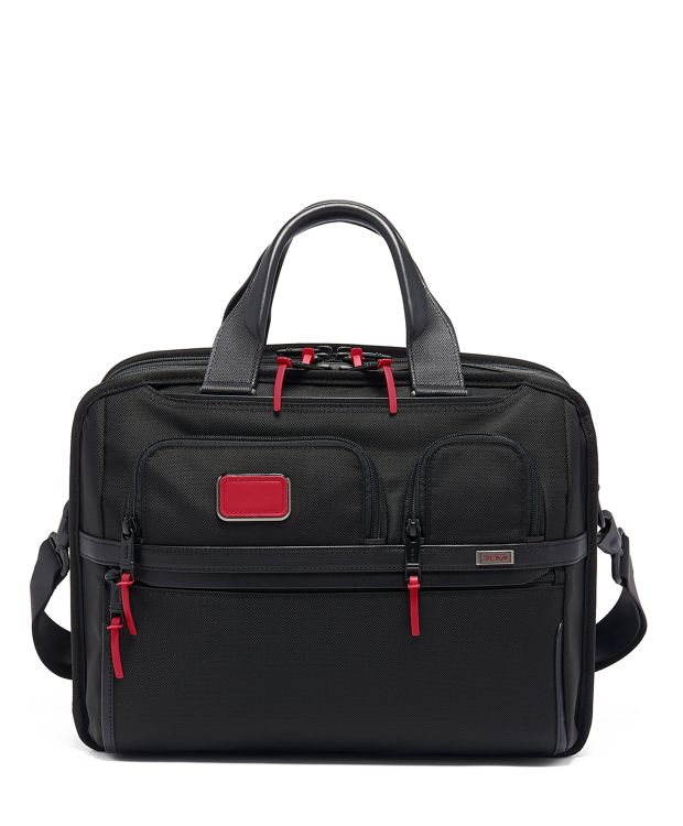 Tumi T-Pass® Expandable Laptop Brief in Collage Floral