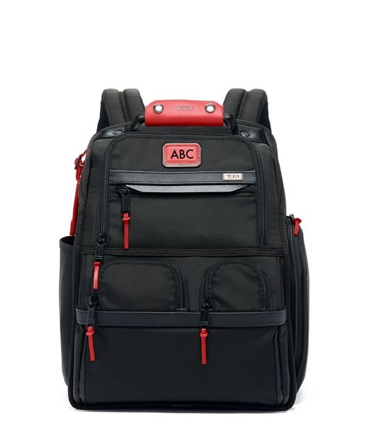Compact Laptop Brief Pack® in Cherry