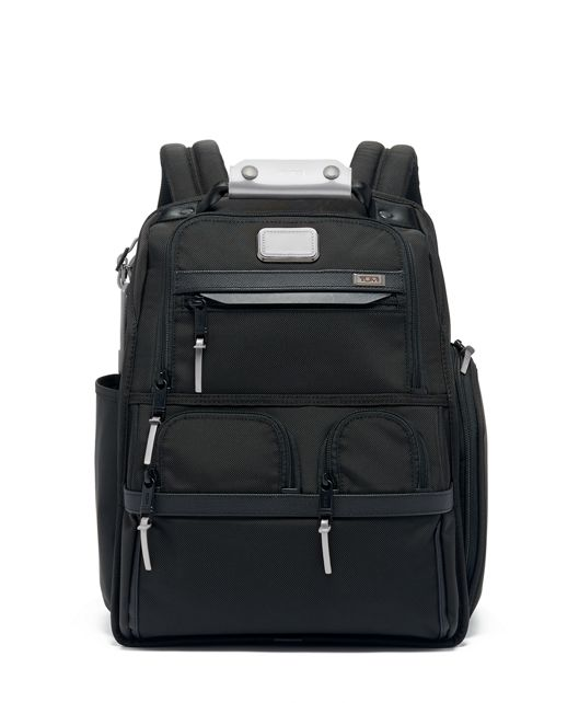 Compact Laptop Brief Pack® in Metallic Silver