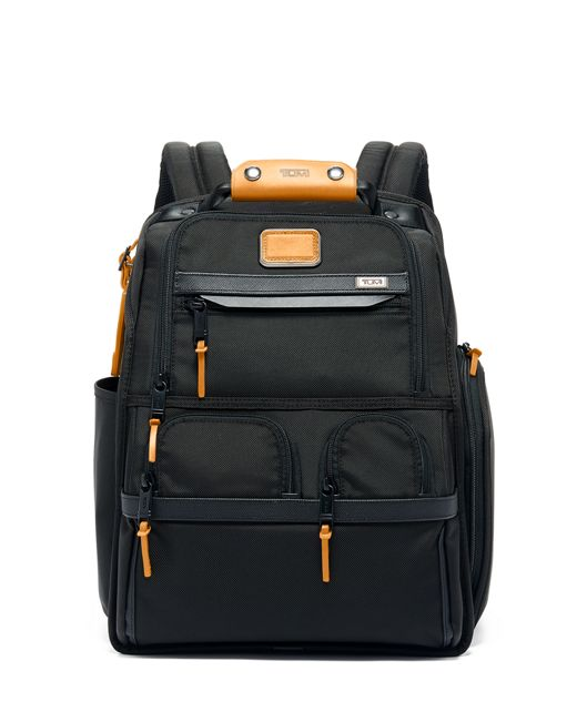 Compact Laptop Brief Pack® in Tan