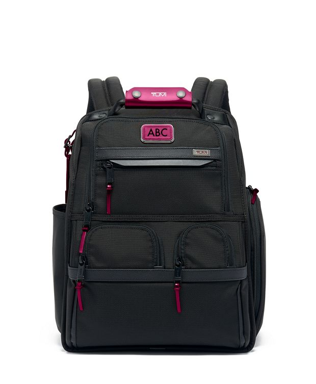 Compact Laptop Brief Pack® in Metallic Pink
