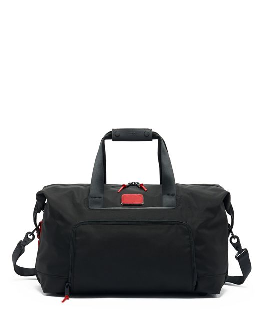 Double Expansion Travel Satchel in Cherry
