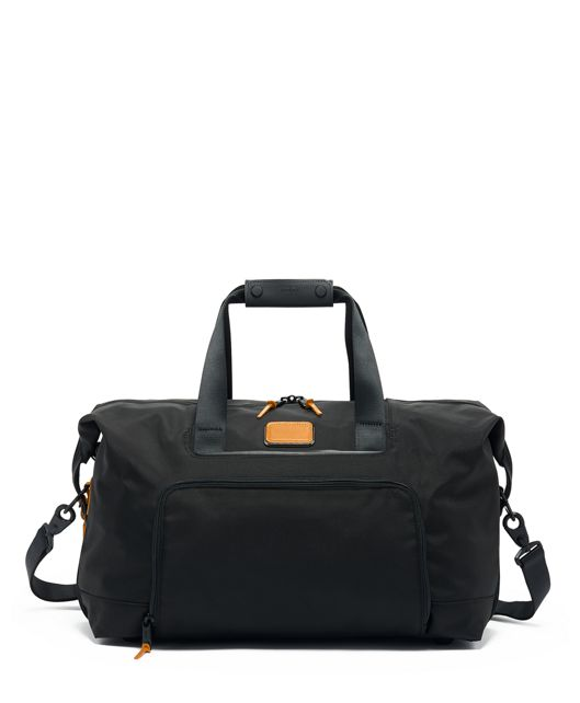 Double Expansion Travel Satchel in Tan