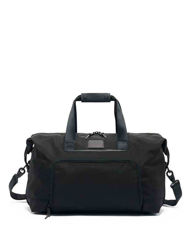 Double Expansion Travel Satchel in Camo