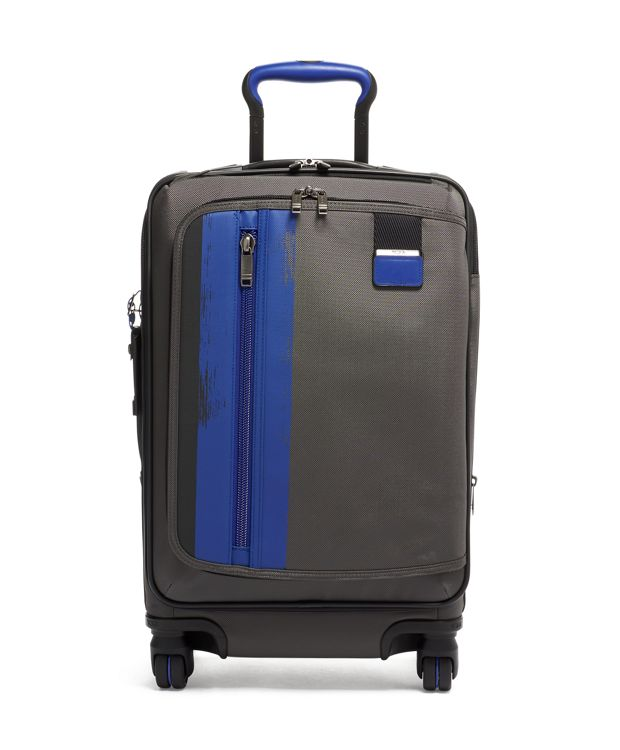 International Expandable Carry-On in Brushed  Blue