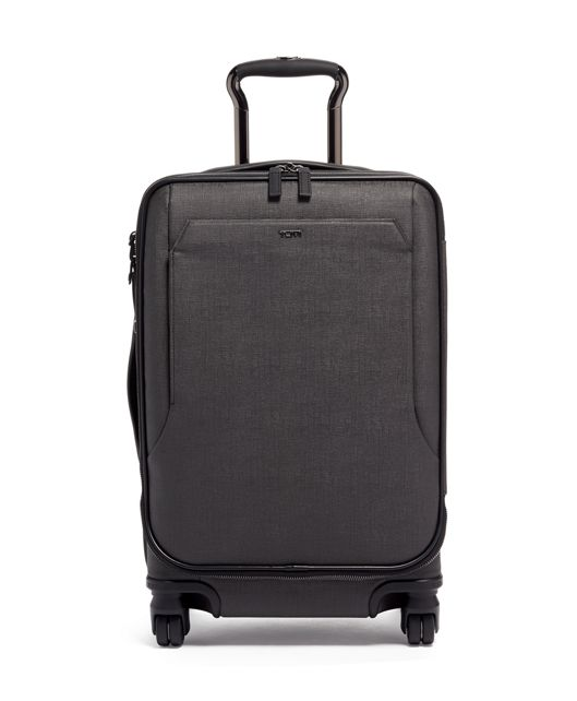 International Dual Access 4 Wheeled Carry-On in Grey