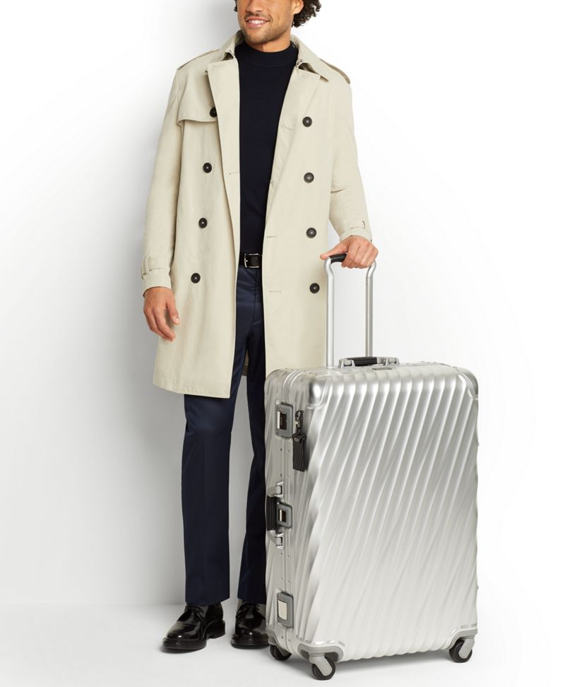 Texture  Silver Extended Trip Packing Case