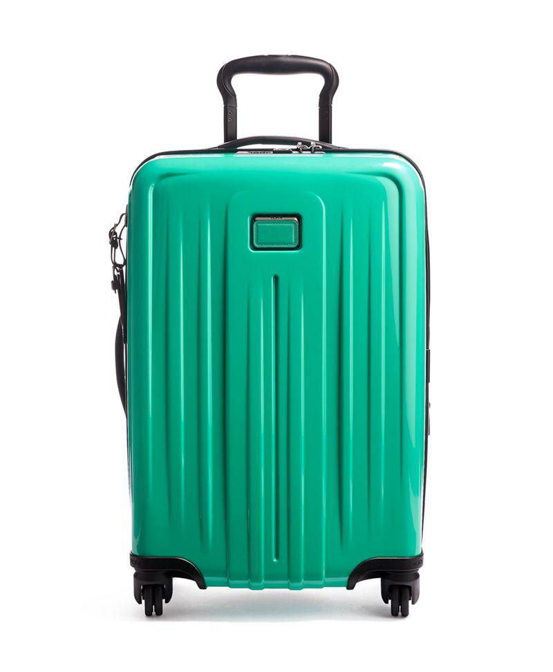 海洋綠可擴充國際四輪手提行李箱