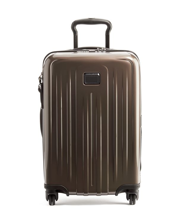 International Expandable 4 Wheeled Carry-On in Mink