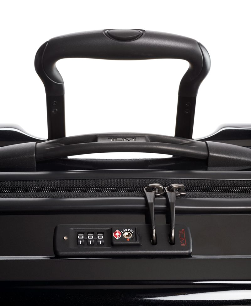 Black Continental Expandable 4 Wheeled Carry-On